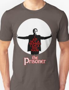 The Prisoner - I AM NOT A NUMBER! Unisex T-Shirt