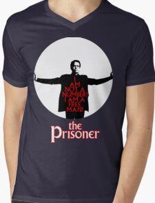 The Prisoner - I AM NOT A NUMBER! Mens V-Neck T-Shirt