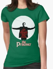 The Prisoner - I AM NOT A NUMBER! Womens Fitted T-Shirt