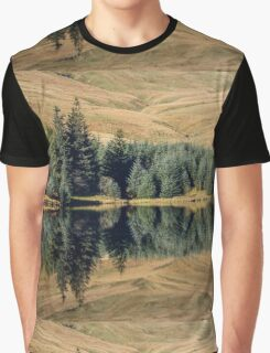 Reflections, Brecon Beacons Graphic T-Shirt