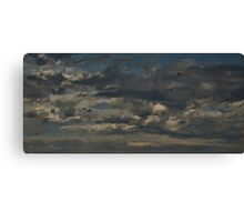 Dirty Clouds Canvas Print