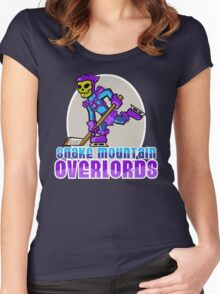 Snake Mountain Overlords Hockey! Women's Fitted Scoop T-Shirt