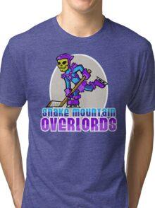 Snake Mountain Overlords Hockey! Tri-blend T-Shirt