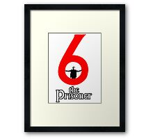 Number 6 - The Prisoner Framed Print