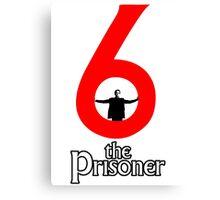Number 6 - The Prisoner Canvas Print