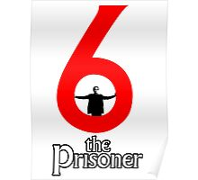 Number 6 - The Prisoner Poster