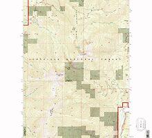 USGS Topo Map Washington State WA Abercrombie Mtn 239721 1992 24000 by wetdryvac
