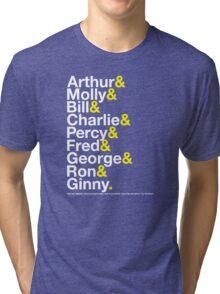 The Weasleys Jetset Tri-blend T-Shirt