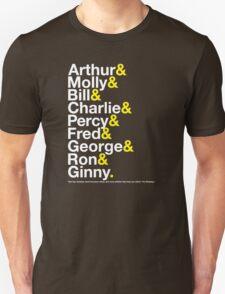The Weasleys Jetset Unisex T-Shirt
