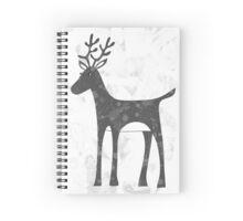 Genevieve's Reindeer Spiral Notebook