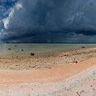 Thunderheads - Pakin Atoll, Micronesia by Alex Zuccarelli