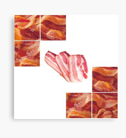 Bacon beacon Canvas Print