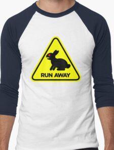 Killer Rabbit (Yellow) Men's Baseball ¾ T-Shirt