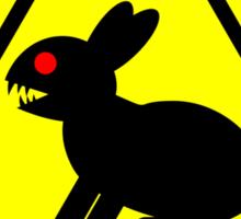 Killer Rabbit (Yellow) Sticker