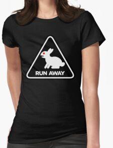 Killer Rabbit (Black) Womens Fitted T-Shirt