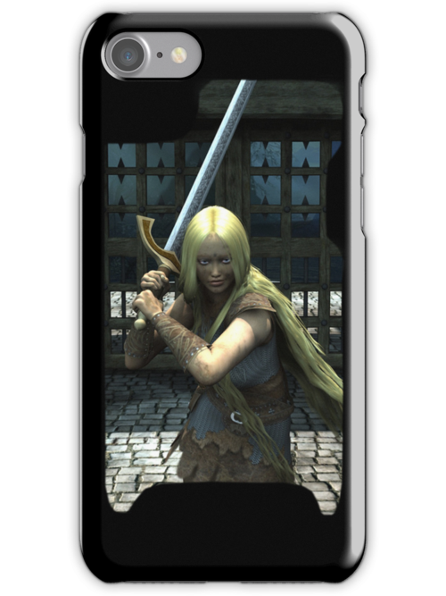 Iphone Cover - Valerie by Pendraia