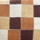 Brown Patchwork by Joan Wild