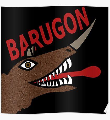Barugon- Black Poster