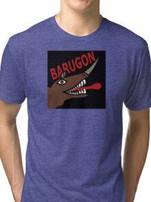 Barugon- Black Tri-blend T-Shirt