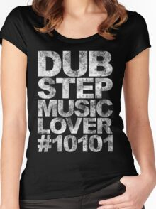 Dubstep Music Lover #10101 Women's Fitted Scoop T-Shirt