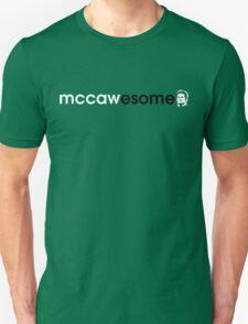 McCawesome White/Black Unisex T-Shirt