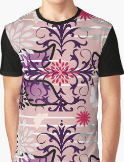 Oriental Garden Goes Wild Graphic T-Shirt