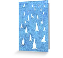 Sailing Greeting Card