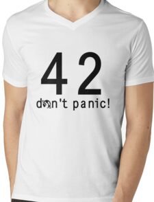 Don't Panic! - Lite Shirts Mens V-Neck T-Shirt