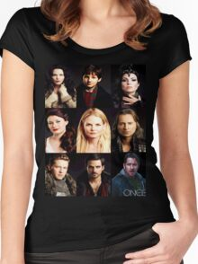 Characters Robin Edition Women's Fitted Scoop T-Shirt