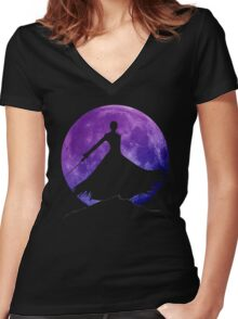 Ichigo Shadow Women's Fitted V-Neck T-Shirt