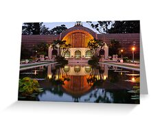 Balboa Park - Evening Greeting Card