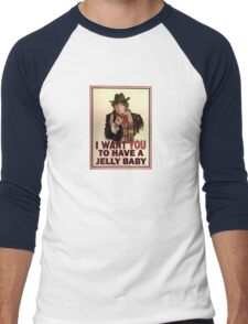 I want you to have a jelly baby Men's Baseball ¾ T-Shirt