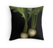 Two Turnips Throw Pillow