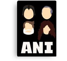 Ani: A Parody Canvas Print