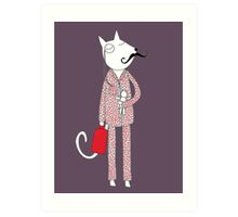 The Cat's Pajamas Art Print