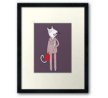 The Cat's Pajamas Framed Print