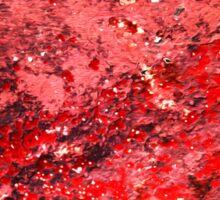 Red Paint Sticker