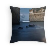 View to Southern Ocean from Loch Ard Gorge Throw Pillow