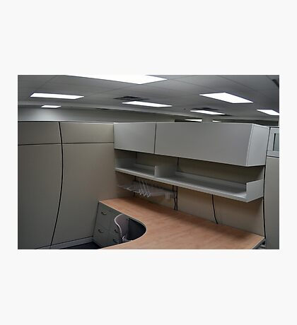 Warped Cubicle Photographic Print