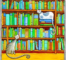 Literary Felines by Julia Marshall