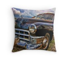 Death Comes to All Throw Pillow