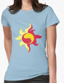 My little Pony - Sunset Shimmer Cutie Mark Womens Fitted T-Shirt