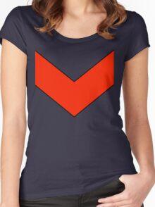 Goldrake Chevron  Women's Fitted Scoop T-Shirt
