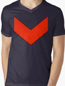 Goldrake Chevron  Mens V-Neck T-Shirt