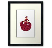 Gypsy Flamenco Passionate Dance Framed Print