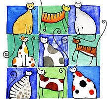 Cats by Julia Marshall
