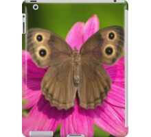 Pretty Butterfly with Flowers iPad Case/Skin