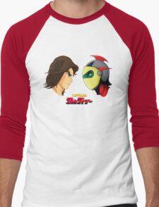 Actarus  & Goldrake Men's Baseball ¾ T-Shirt