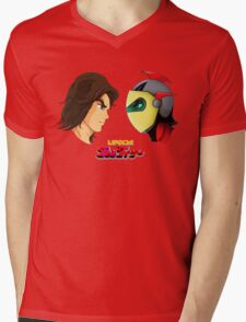 Actarus  & Goldrake Mens V-Neck T-Shirt