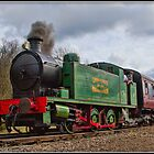 Robert Stevenson Hawthorn 0-6-0t No.7684 by alan tunnicliffe